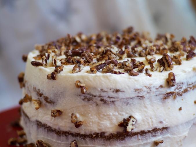 Carrot Cake ala Magnolia Bakery