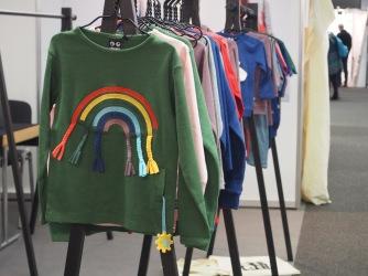 Regenbogen Pullover